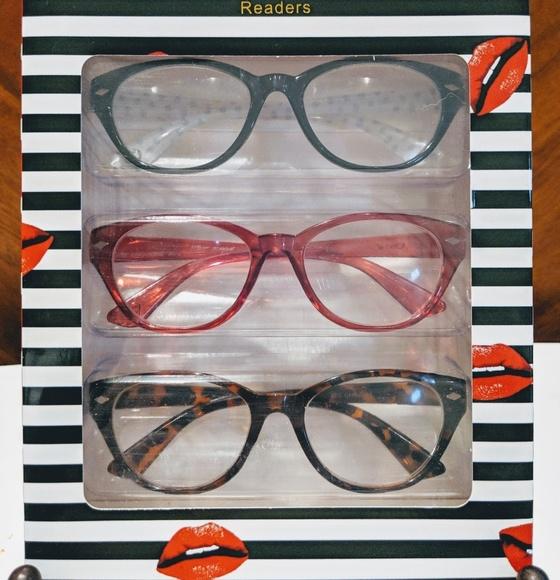 e3169d94d66 Betsey Johnson 3-pack Readers Reading Glasses